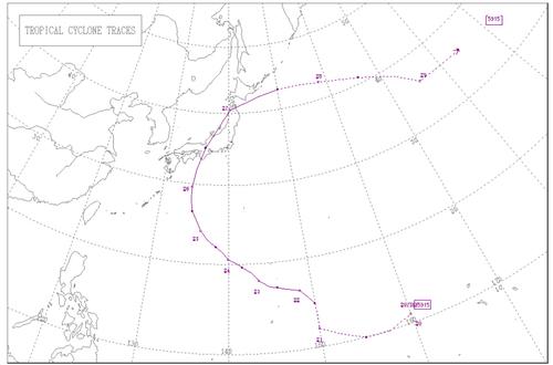 伊勢湾台風(5915)の経路(気象庁のHPによる).jpg