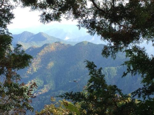 大岳山頂直下から馬頭刈尾根方面を望む.jpg