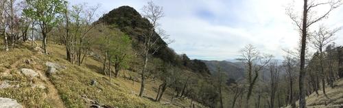 太古の辻から大日岳を望む朝の光景.jpg