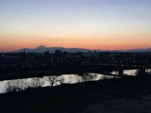 富士山のある夕景色.jpg