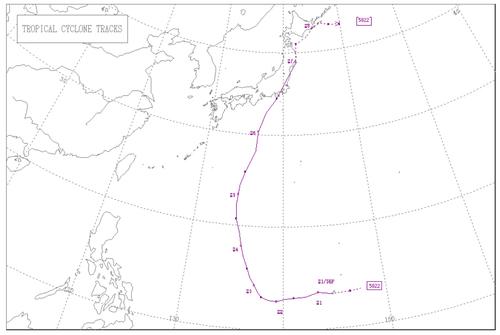 狩野川台風(5822)の経路(気象庁HPによる).jpg