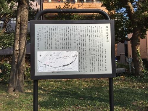 隅田公園堀辰雄旧居の案内板.JPG